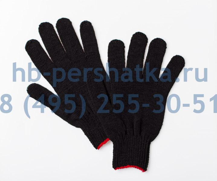 Перчатки рабочие хб черные Эталон