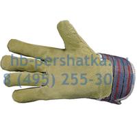 Перчатки АНГАРА комбинированные свиной спилк
