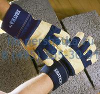 Перчатки Хватка кожаные комбинированные утепленные